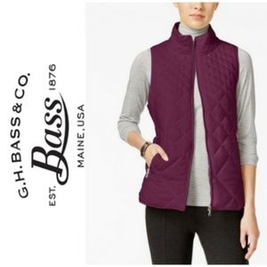G.H. Bass Vest Quilted, Packable, Puffer